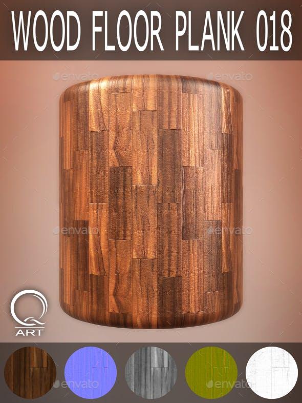 Wood Floor Plank 018 - 3DOcean Item for Sale