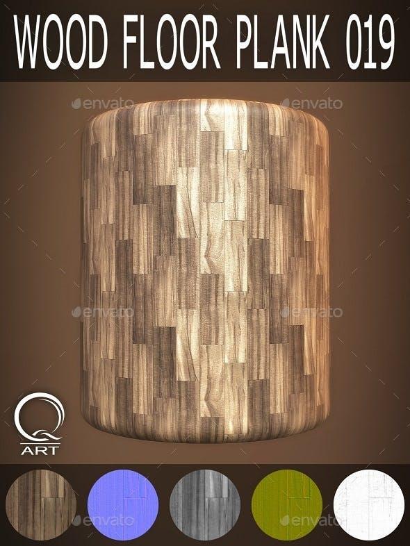 Wood Floor Plank 019 - 3DOcean Item for Sale