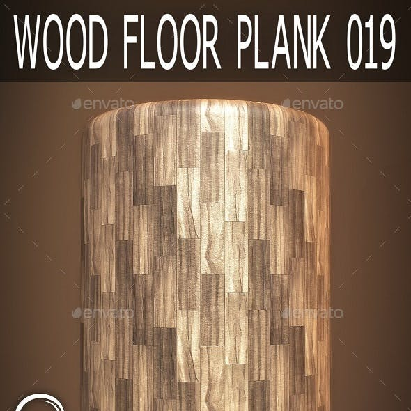Wood Floor Plank 019