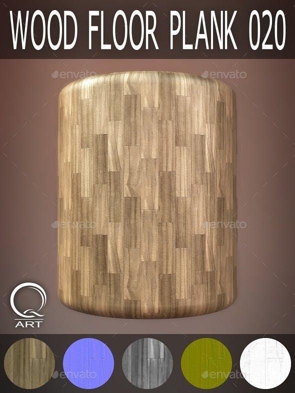 Wood Floor Plank 020 - 3DOcean Item for Sale