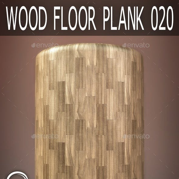 Wood Floor Plank 020