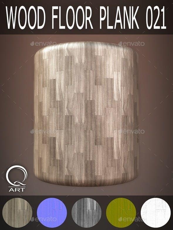 Wood Floor Plank 021 - 3DOcean Item for Sale