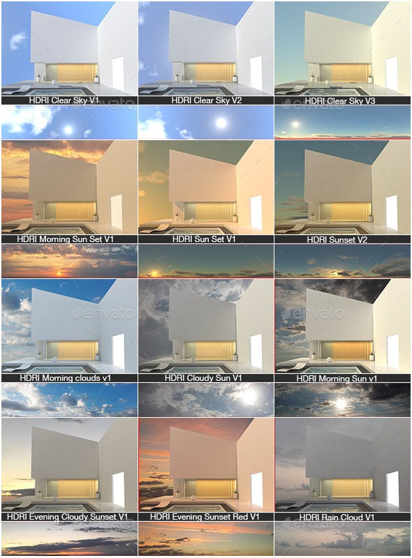 HDRI Collection V1 - 3DOcean Item for Sale