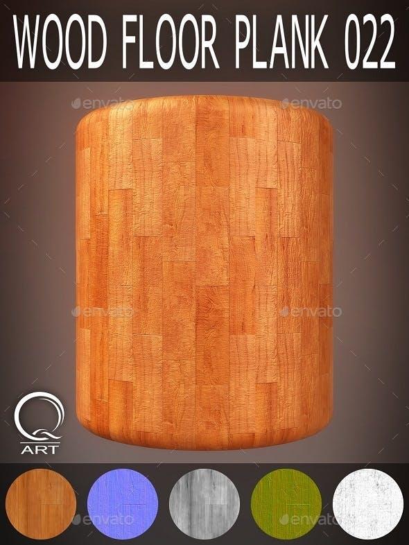 Wood Floor Plank 022 - 3DOcean Item for Sale