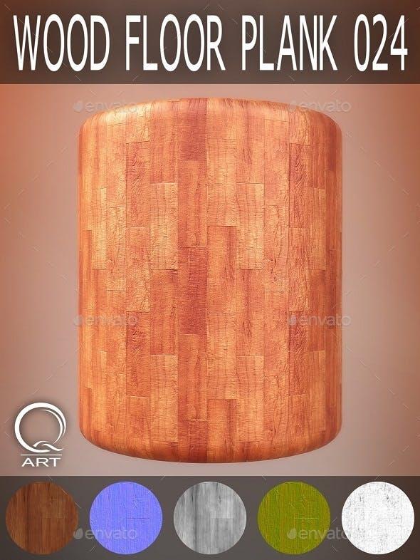 Wood Floor Plank 024 - 3DOcean Item for Sale