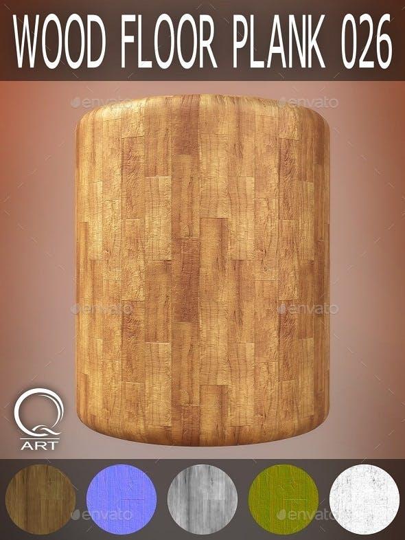 Wood Floor Plank 026 - 3DOcean Item for Sale