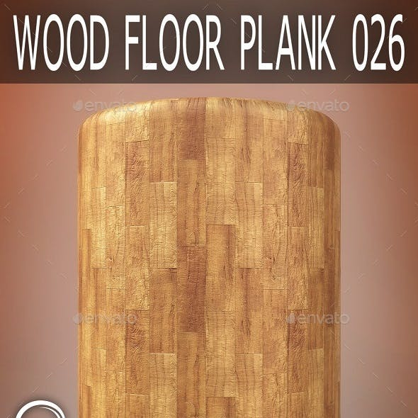 Wood Floor Plank 026