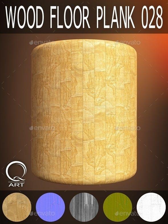 Wood Floor Plank 028 - 3DOcean Item for Sale