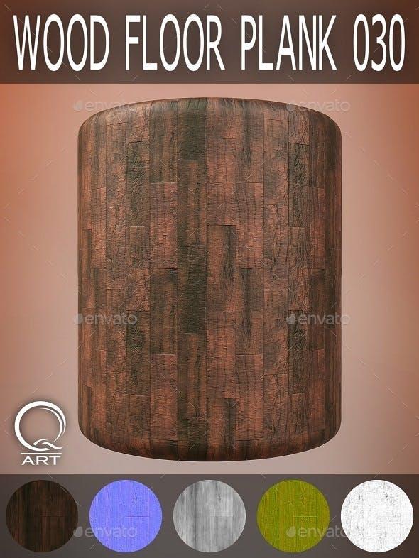 Wood Floor Plank 030 - 3DOcean Item for Sale