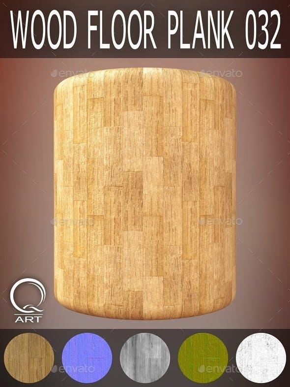 Wood Floor Plank 032 - 3DOcean Item for Sale