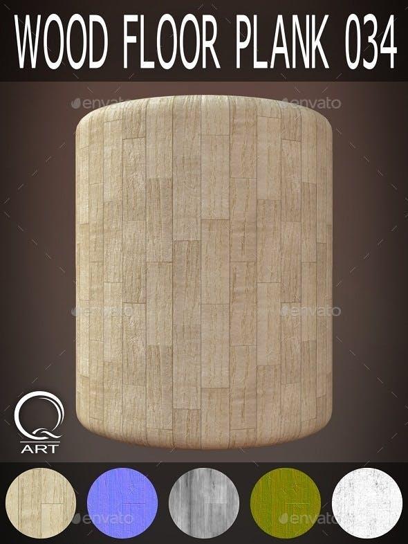 Wood Floor Plank 034 - 3DOcean Item for Sale