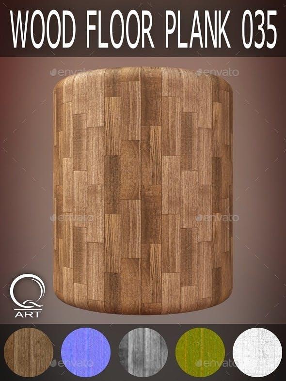 Wood Floor Plank 035 - 3DOcean Item for Sale