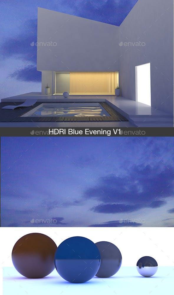 Blue Evening V1 - 3DOcean Item for Sale