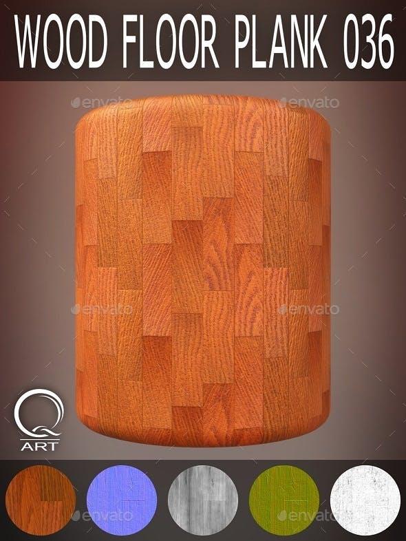 Wood Floor Plank 036 - 3DOcean Item for Sale