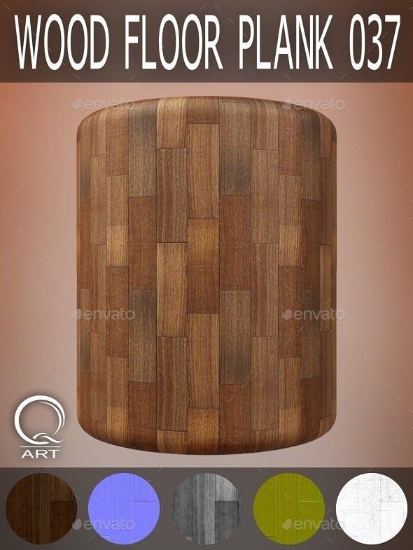 Wood Floor Plank 037 - 3DOcean Item for Sale
