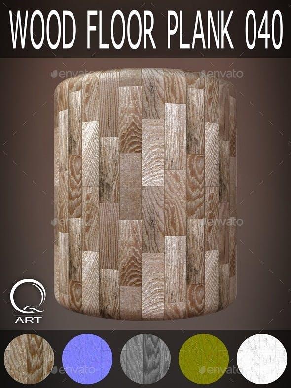 Wood Floor Plank 040 - 3DOcean Item for Sale