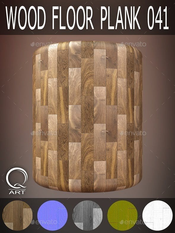 Wood Floor Plank 041 - 3DOcean Item for Sale