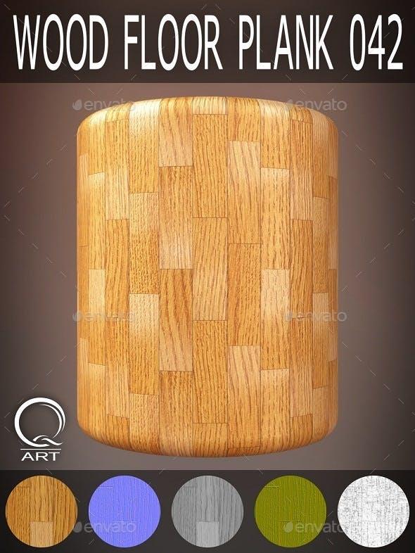 Wood Floor Plank 042 - 3DOcean Item for Sale