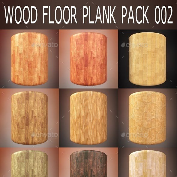 Wood Floor Plank Pack 002