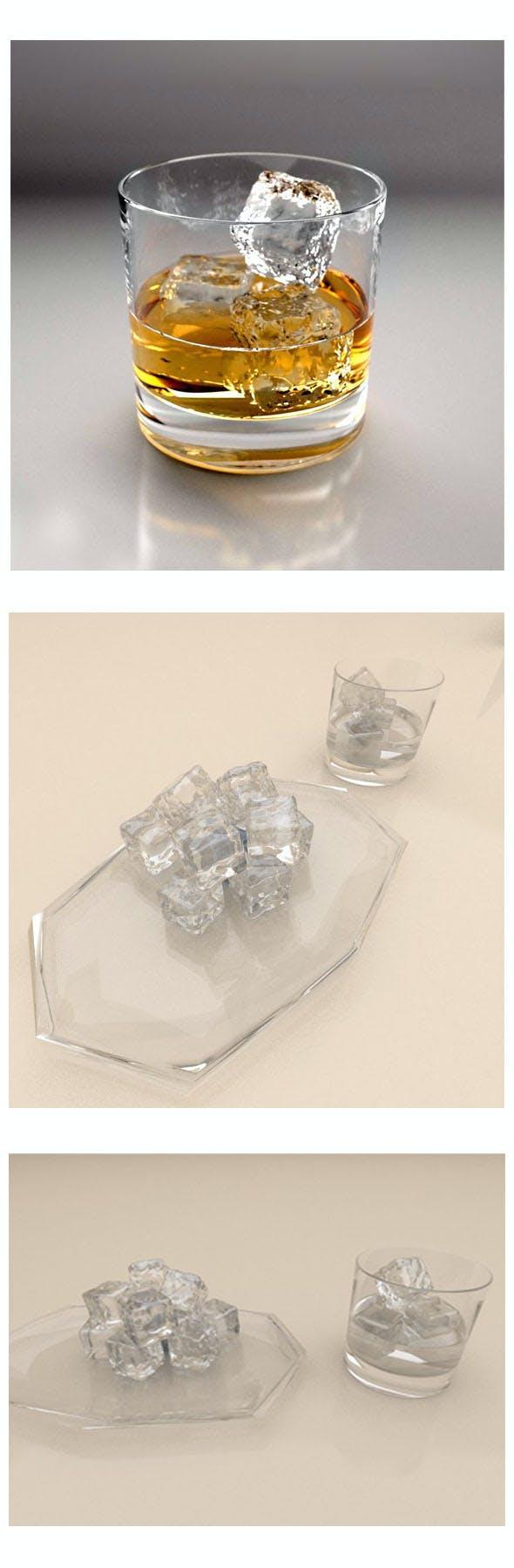 Glass tea cup - 3DOcean Item for Sale
