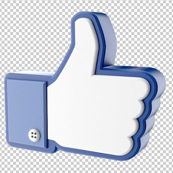 Facebook Like Thumb Up Hand Icon