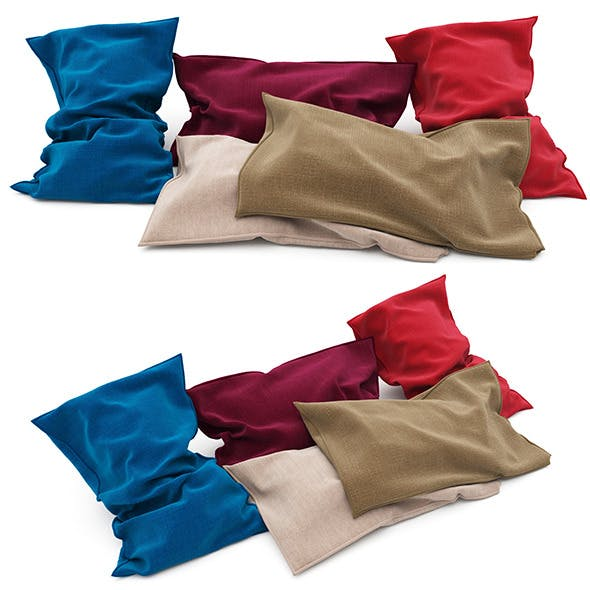 Pillows collection 85 - 3DOcean Item for Sale