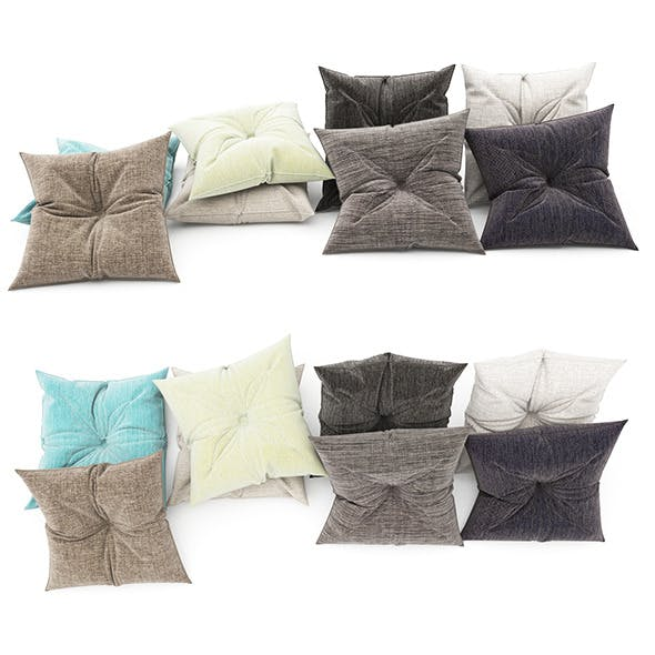 Pillows collection 86 - 3DOcean Item for Sale