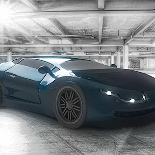 Sport Car Concept Random Design