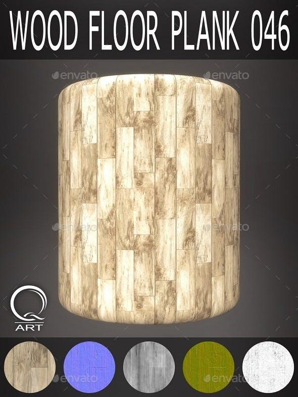 Wood Floor Plank 046 - 3DOcean Item for Sale