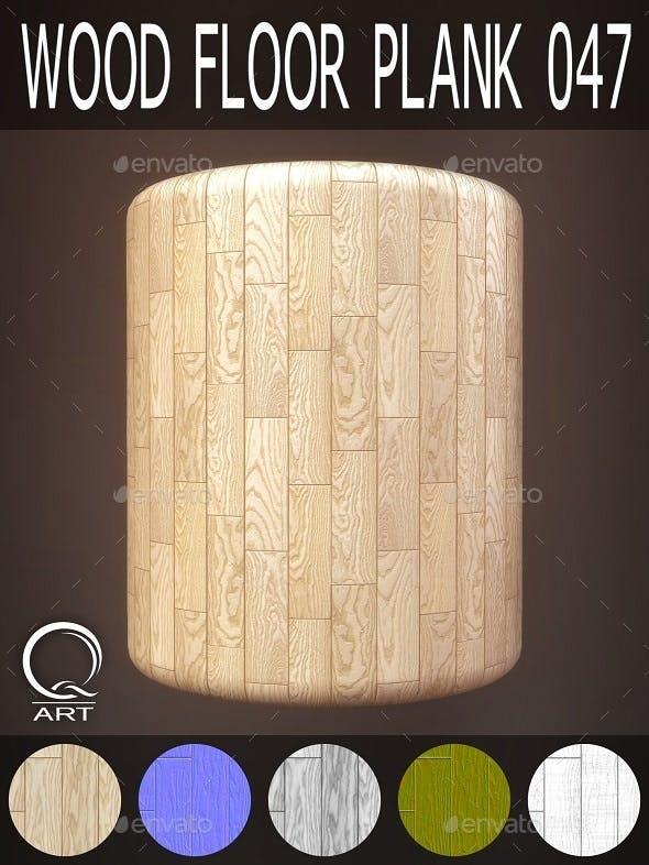 Wood Floor Plank 047 - 3DOcean Item for Sale