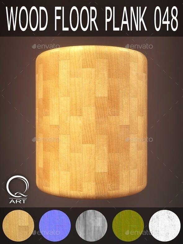 Wood Floor Plank 048 - 3DOcean Item for Sale