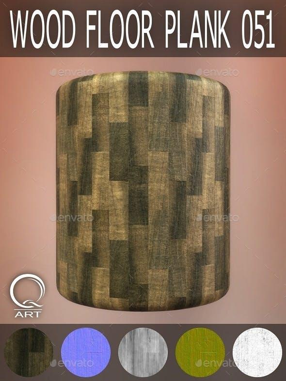 Wood Floor Plank 051 - 3DOcean Item for Sale