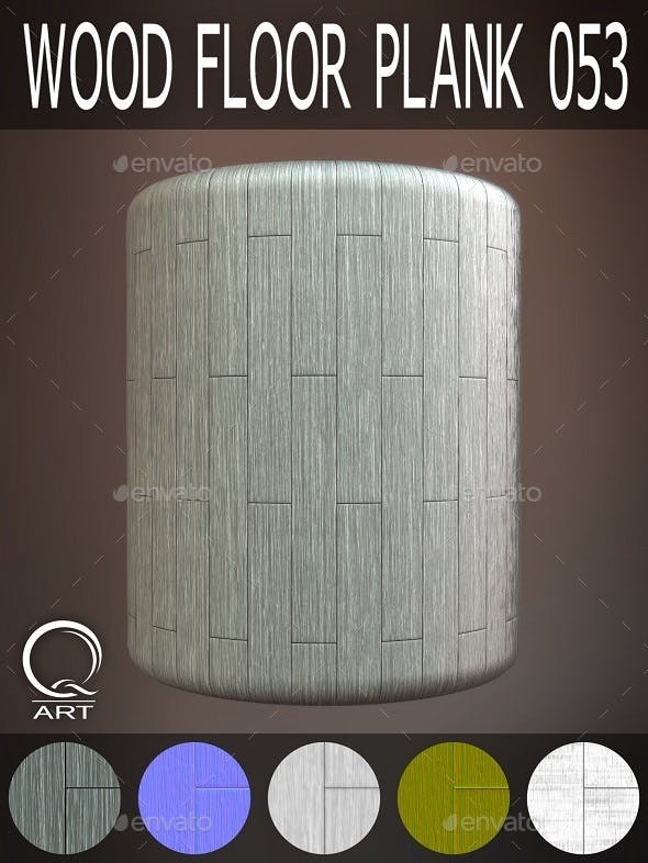 Wood Floor Plank 053 - 3DOcean Item for Sale