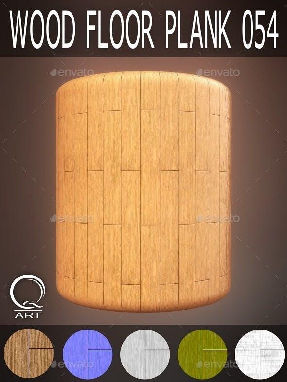 Wood Floor Plank 054 - 3DOcean Item for Sale