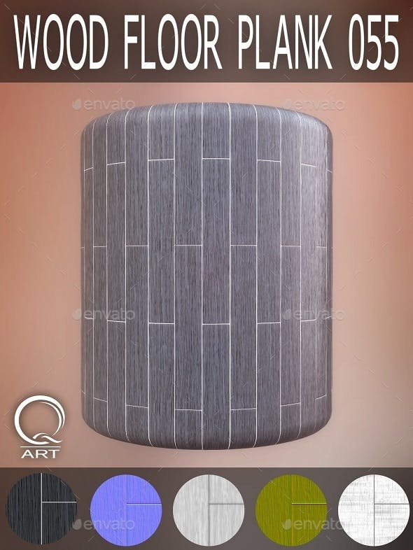 Wood Floor Plank 055 - 3DOcean Item for Sale