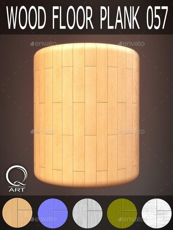 Wood Floor Plank 057 - 3DOcean Item for Sale
