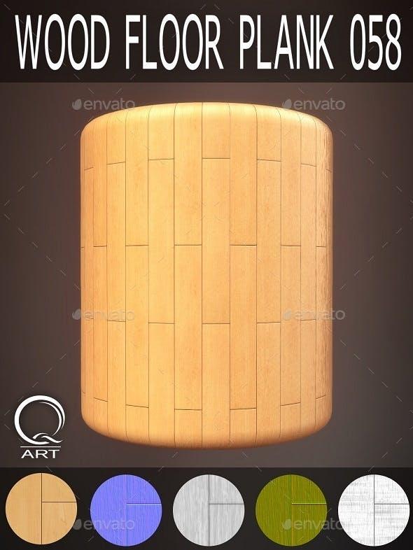 Wood Floor Plank 058 - 3DOcean Item for Sale