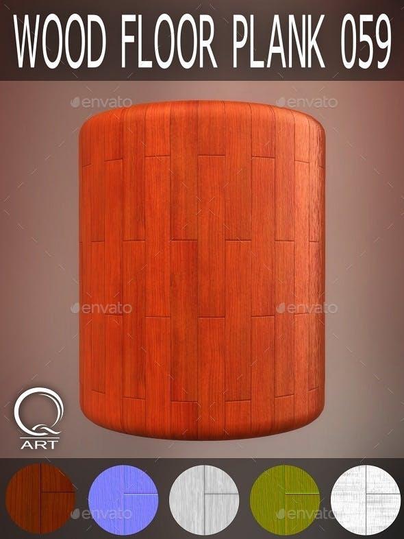 Wood Floor Plank 059 - 3DOcean Item for Sale