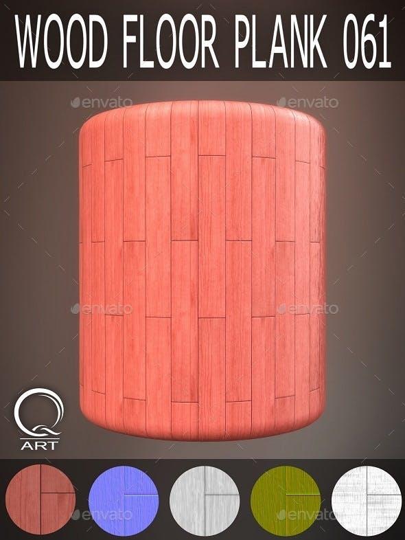 Wood Floor Plank 061 - 3DOcean Item for Sale