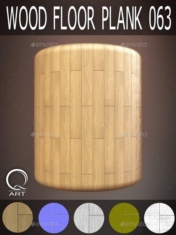 Wood Floor Plank 063 - 3DOcean Item for Sale