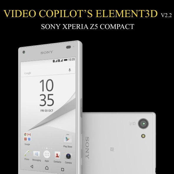 Element3D - Sony Xperia Z5 Compact