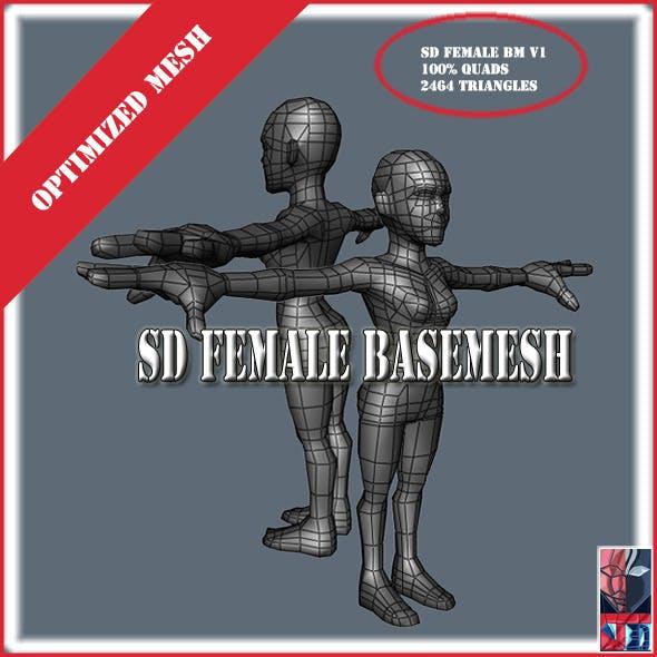 SDFemaleBaseMeshV1