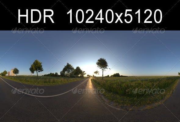 Road in fields 1 - 3DOcean Item for Sale