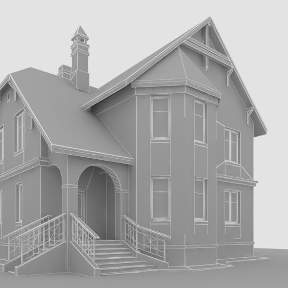30a oriel 2 storey house - 3DOcean Item for Sale