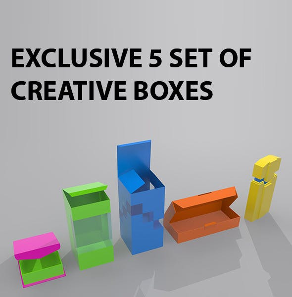 Carton Box Package - 3DOcean Item for Sale