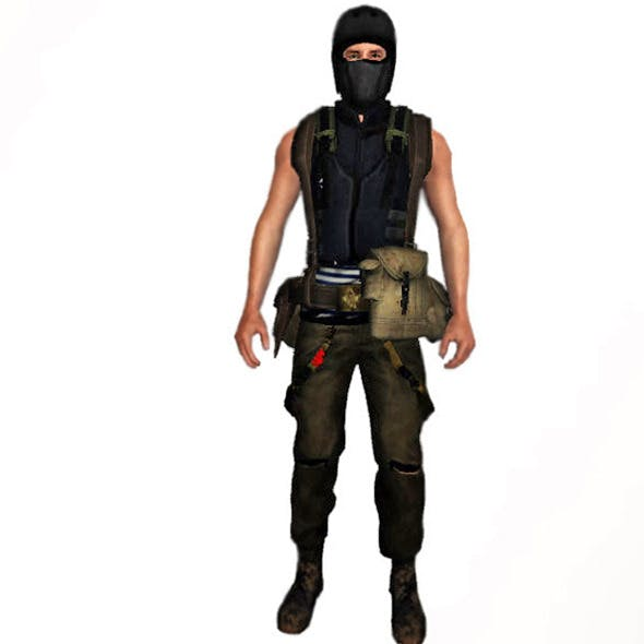 Survival Man Mega Equipment Pack (54 clothes) - 3DOcean Item for Sale