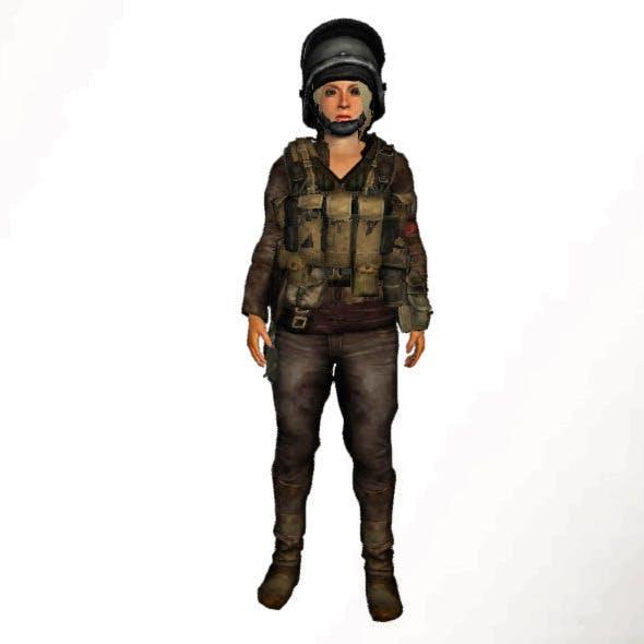 Survival Woman Mega Equipment Pack (67 clothes - 3DOcean Item for Sale