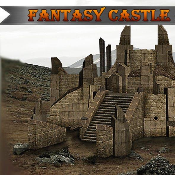 Fantasy Castle Ruins