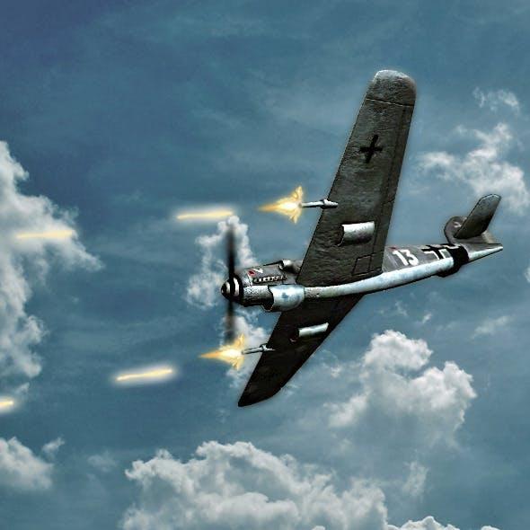 German Plane WWII