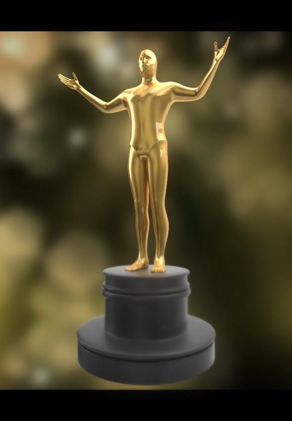 Award Trophy - 3DOcean Item for Sale